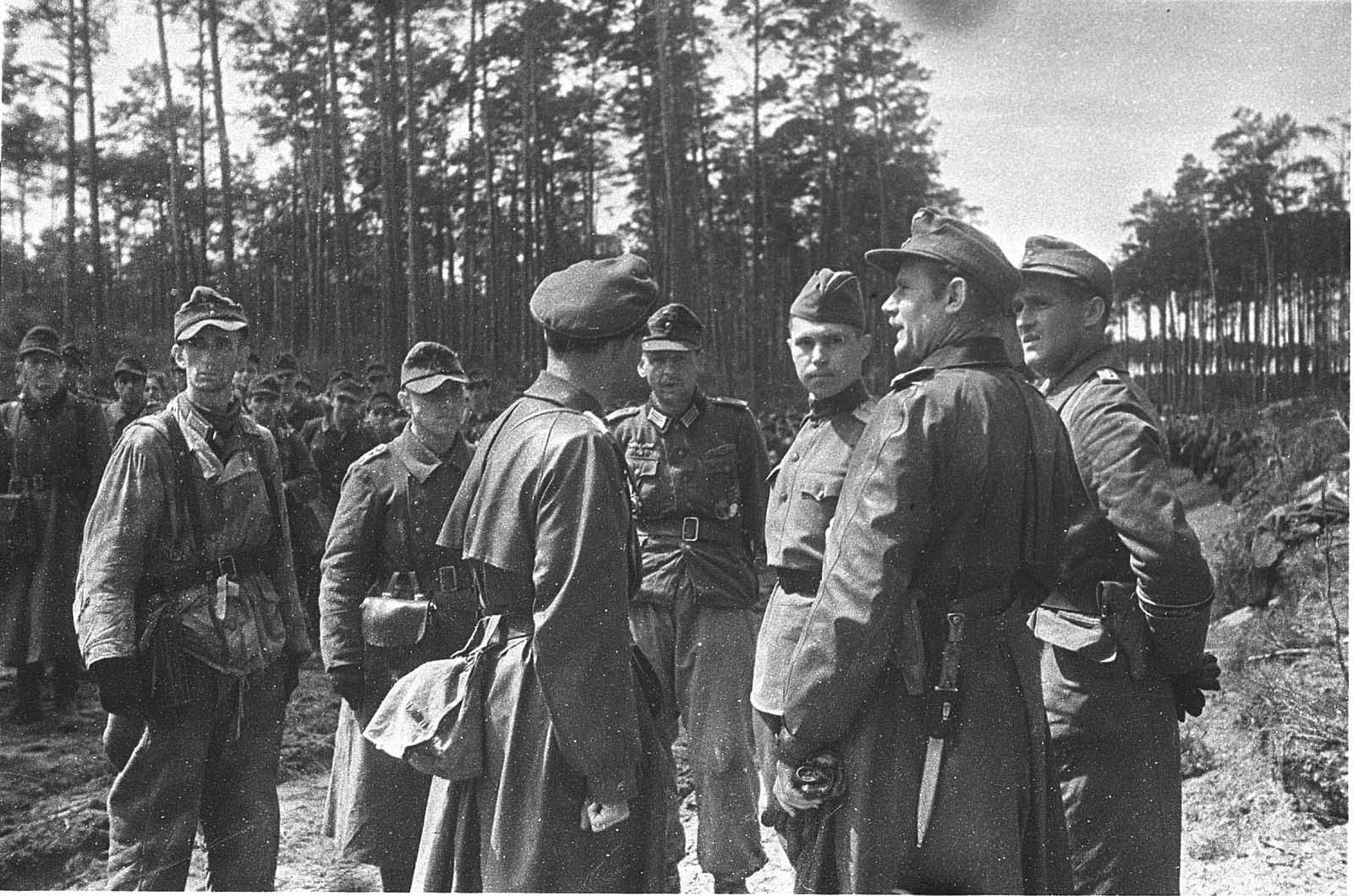 The capitulation of the Wehrmacht in Eastern Prussia