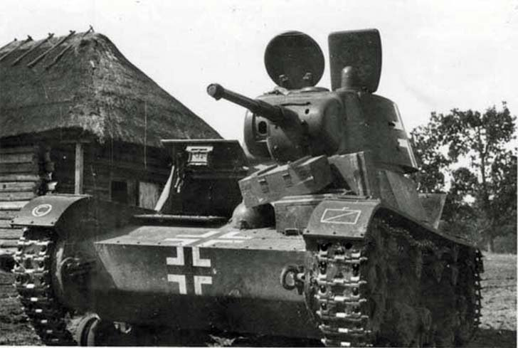 T-26 light tank in the Wehrmacht