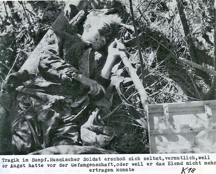 Soviet soldier-suicide