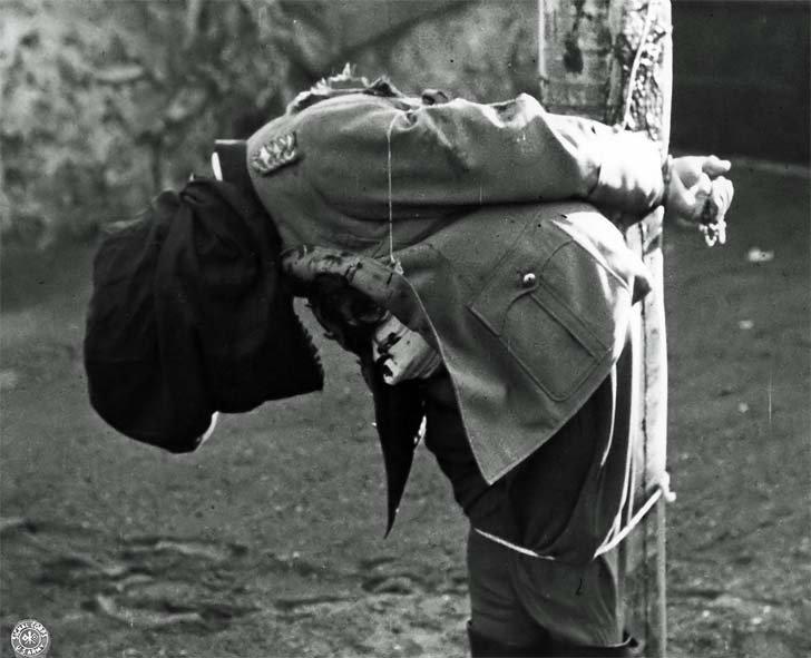 Body shot General Anton Dostler