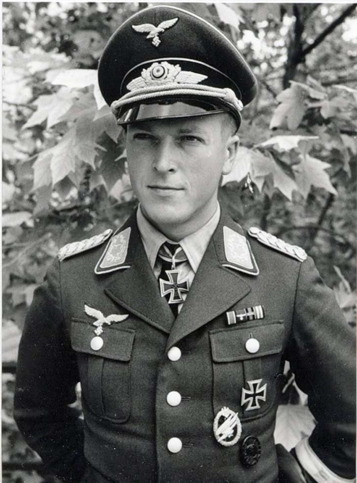 Major Rudolf Witzig - a legend of German Airborne Troops