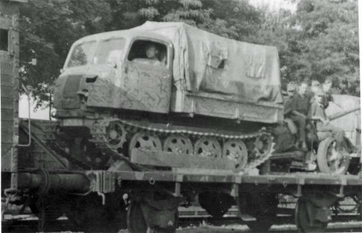 RSO German Artillery Tractor