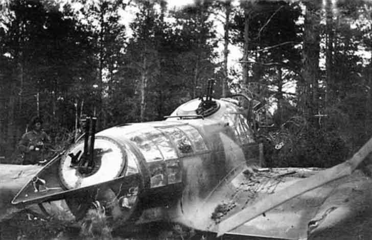 "Downed Fw 189 ""Uhu"""