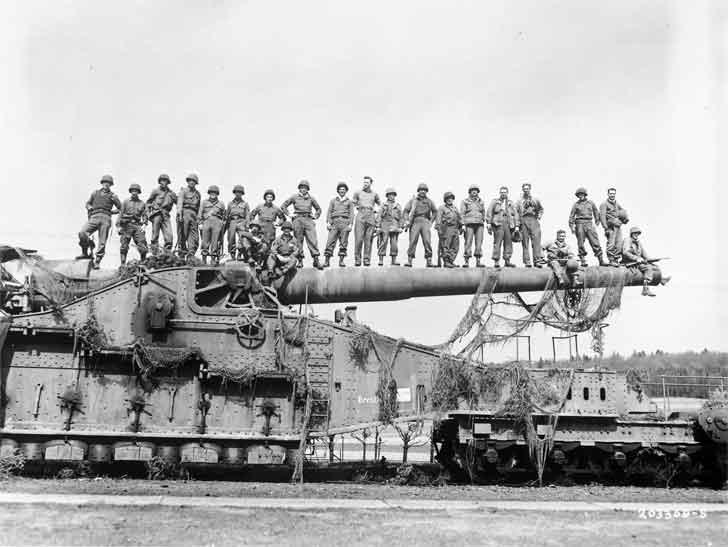 railroad artillery