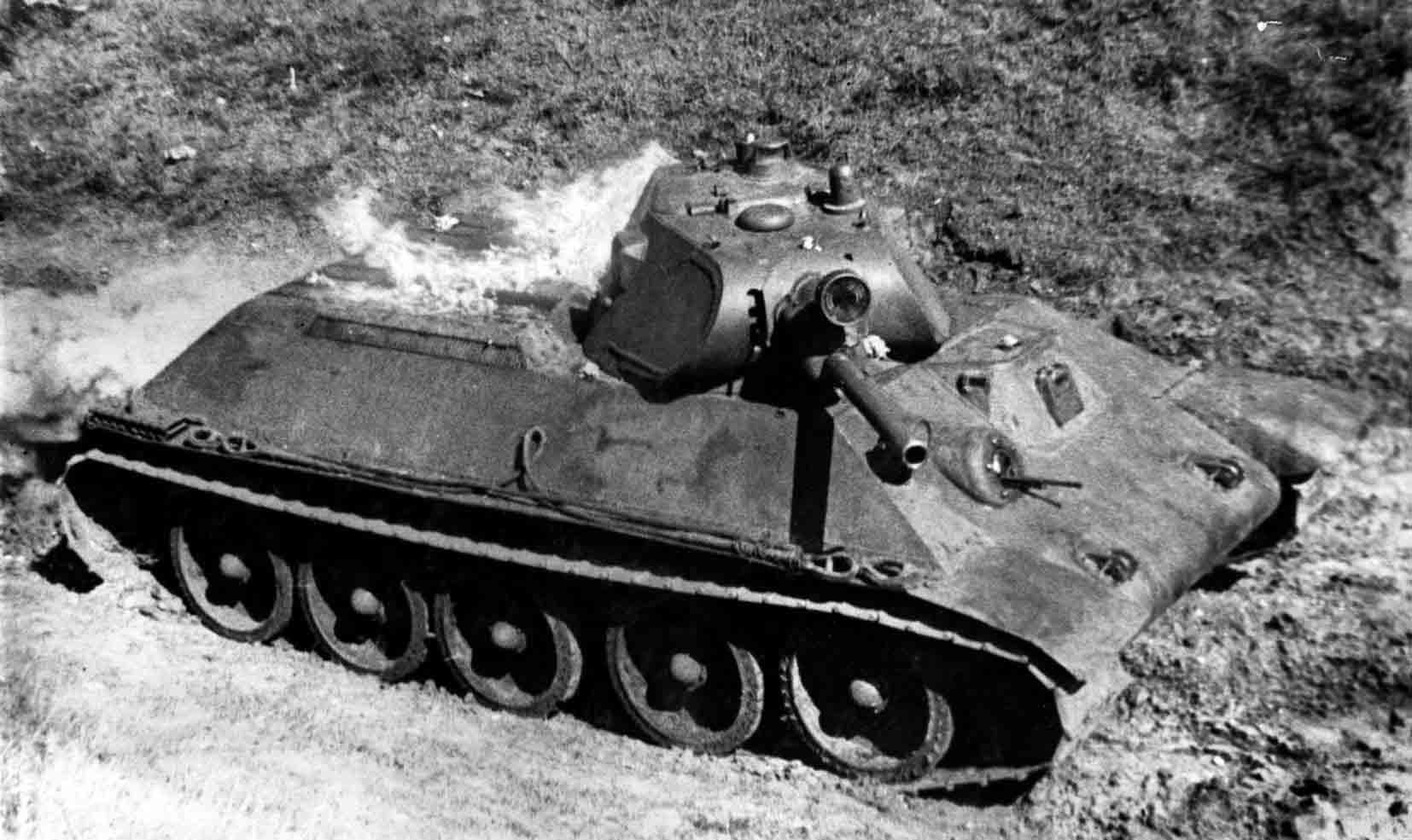 russian t 34 tank