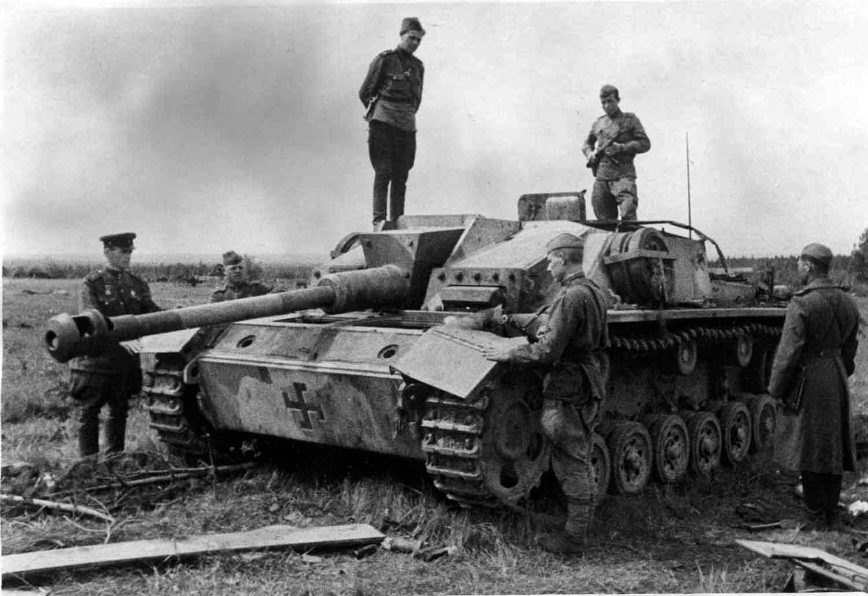 Stug tank destroyer