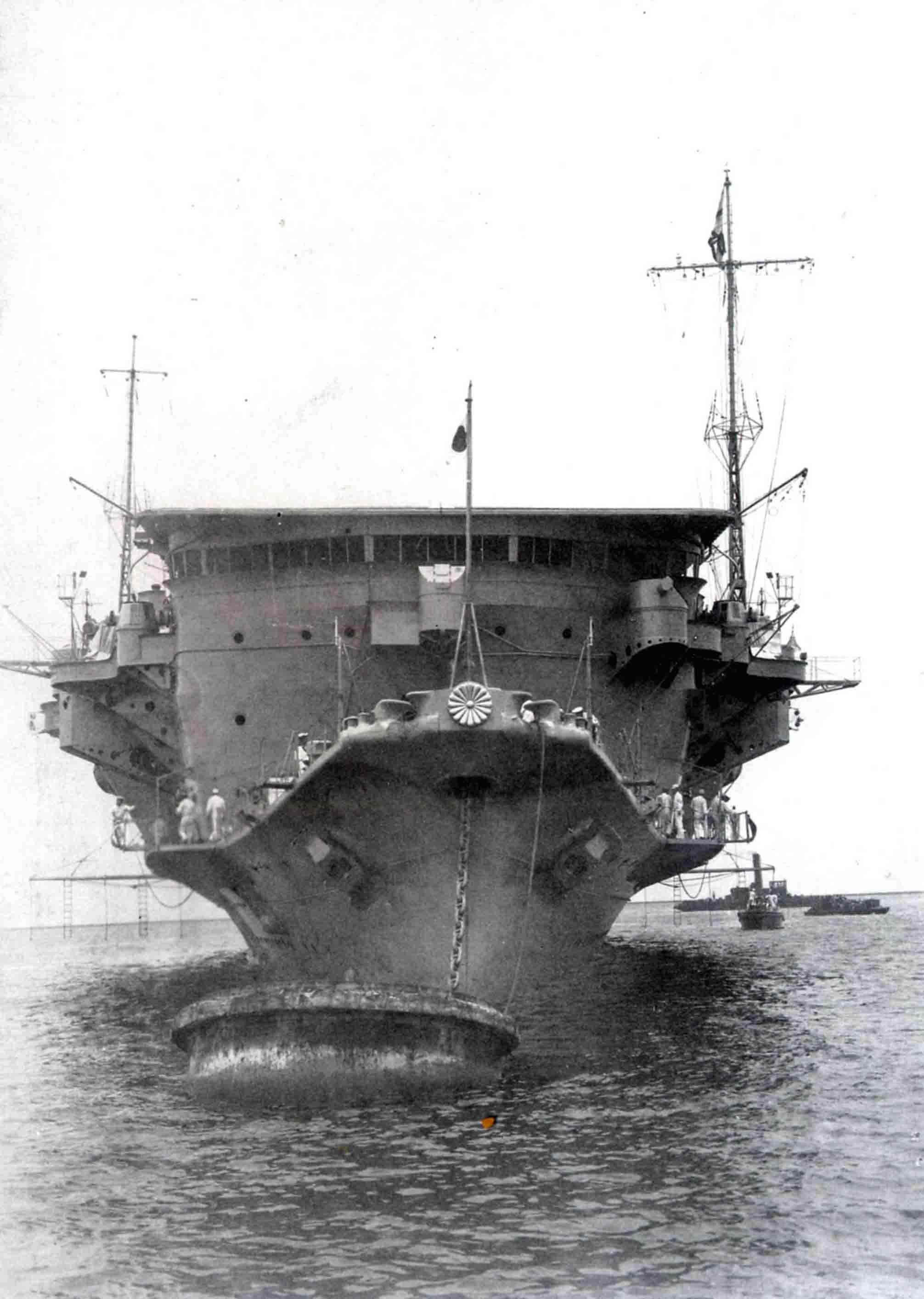 Ryujo aircraft carrier