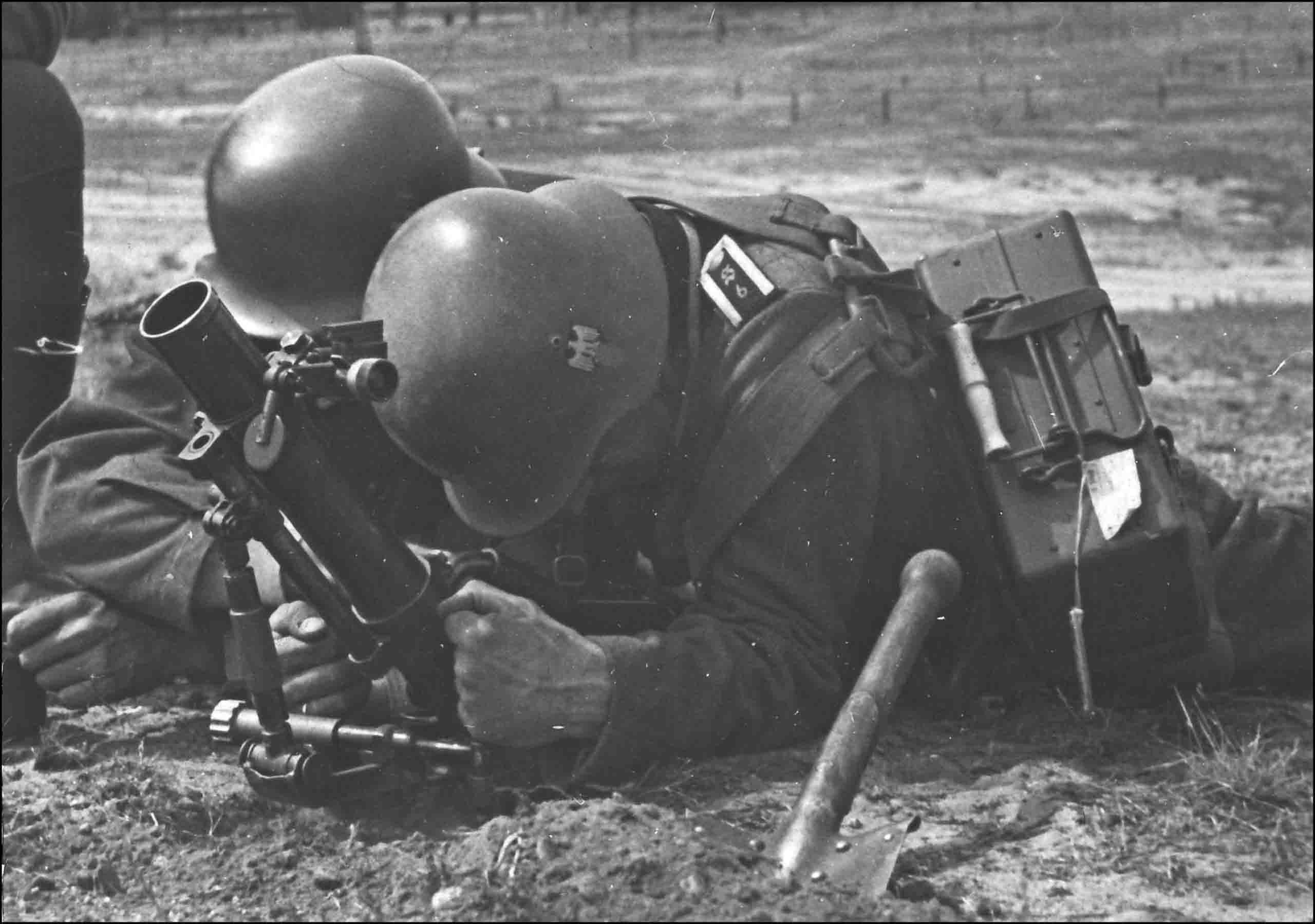 German mortar