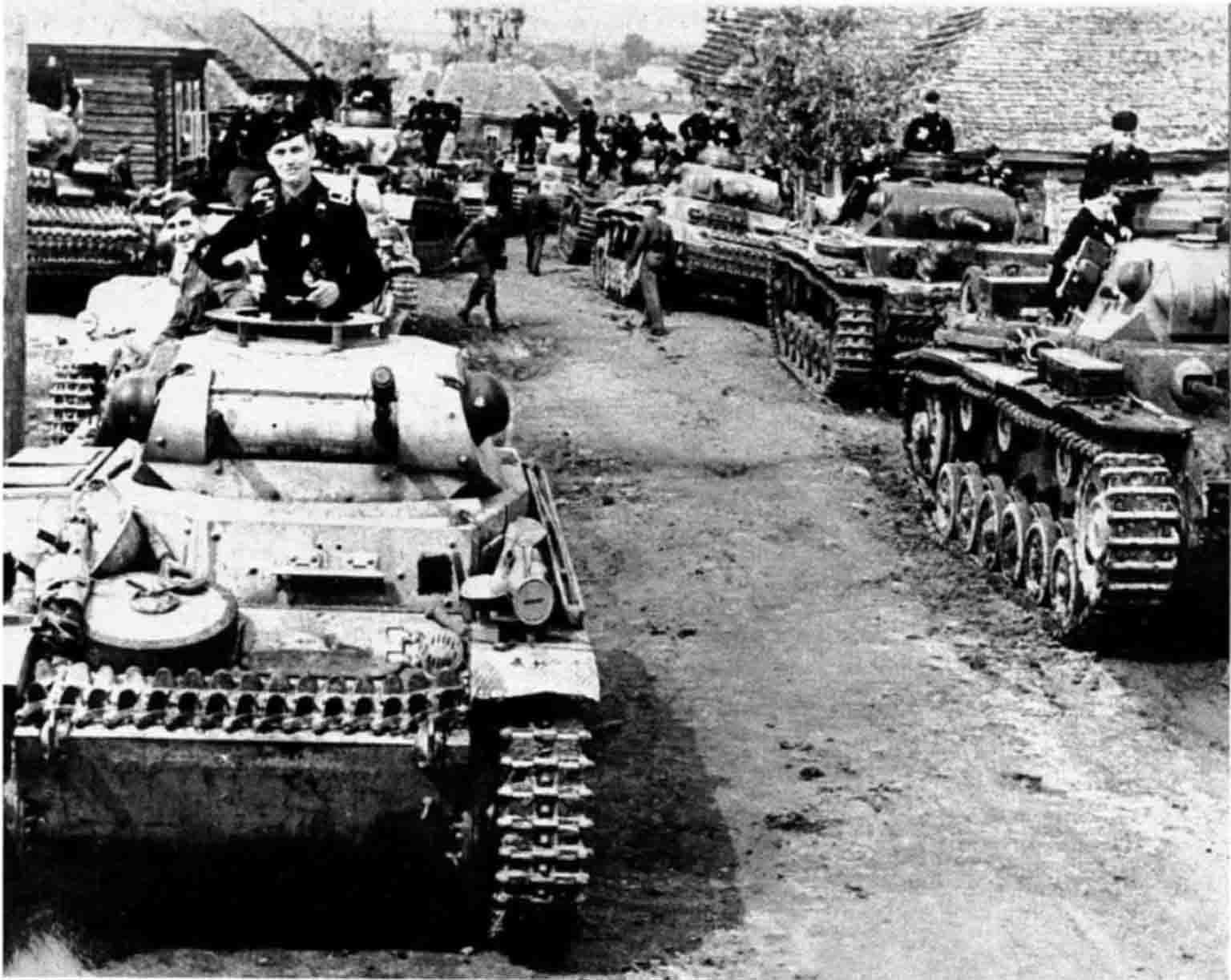 World War II - German tanks