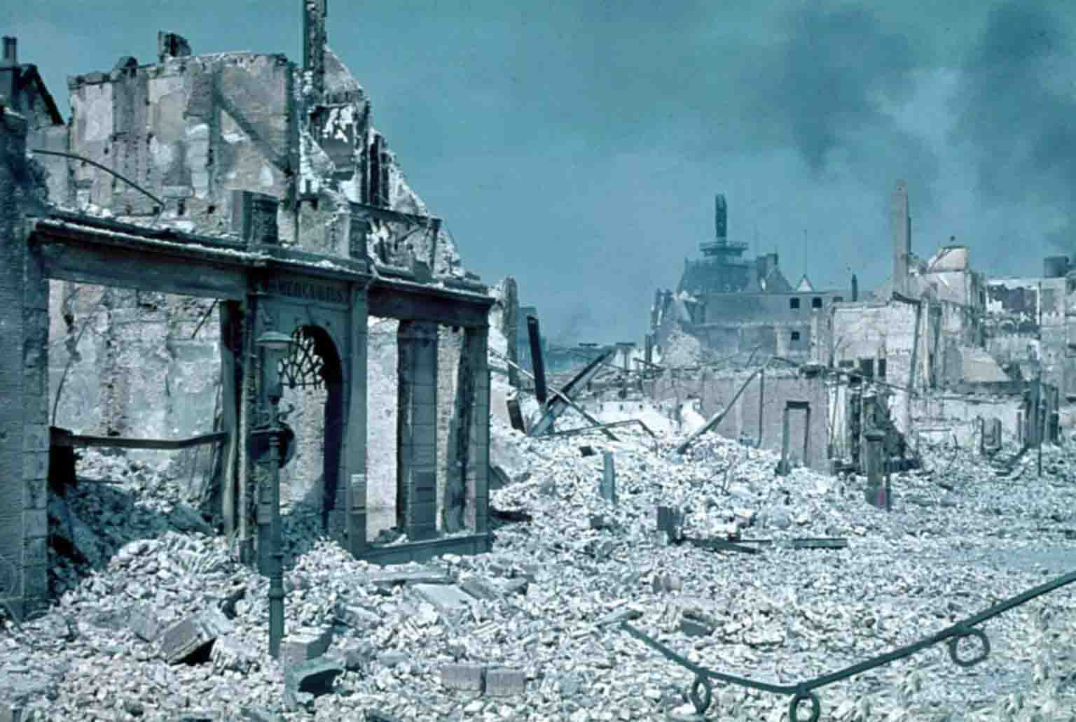 World War II - Ruined Rotterdam