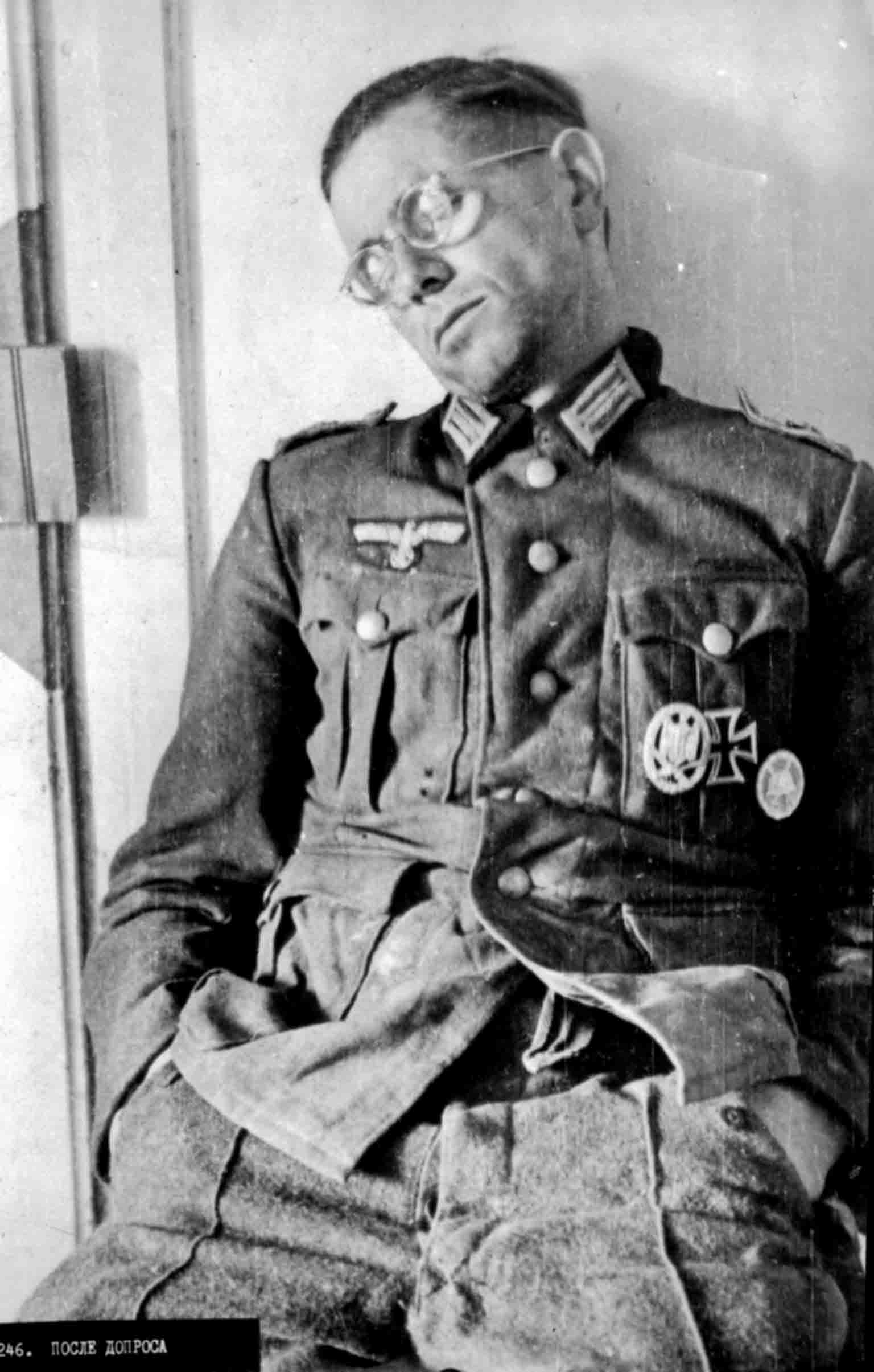 World War 2 - officer of the Wehrmacht