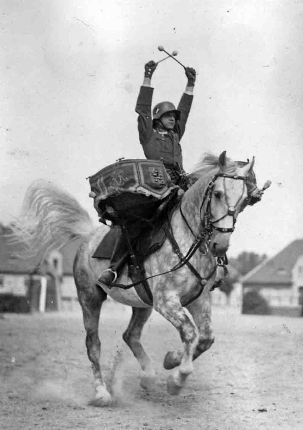 World War 2 - cavalry drummer
