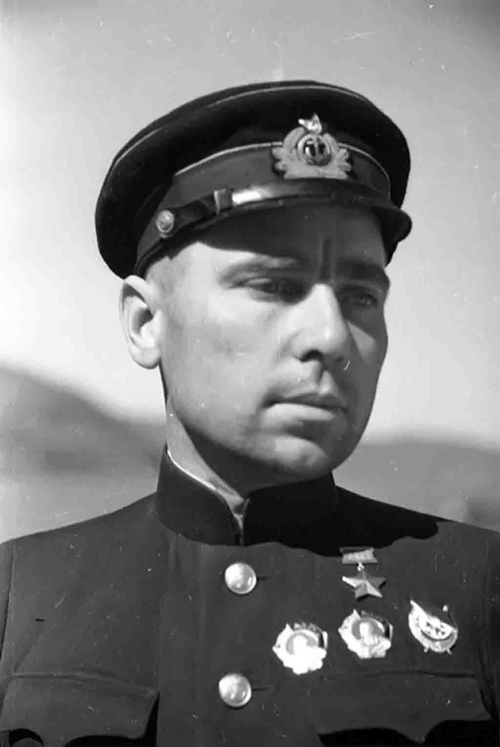 World War II - Nikolai Lunin
