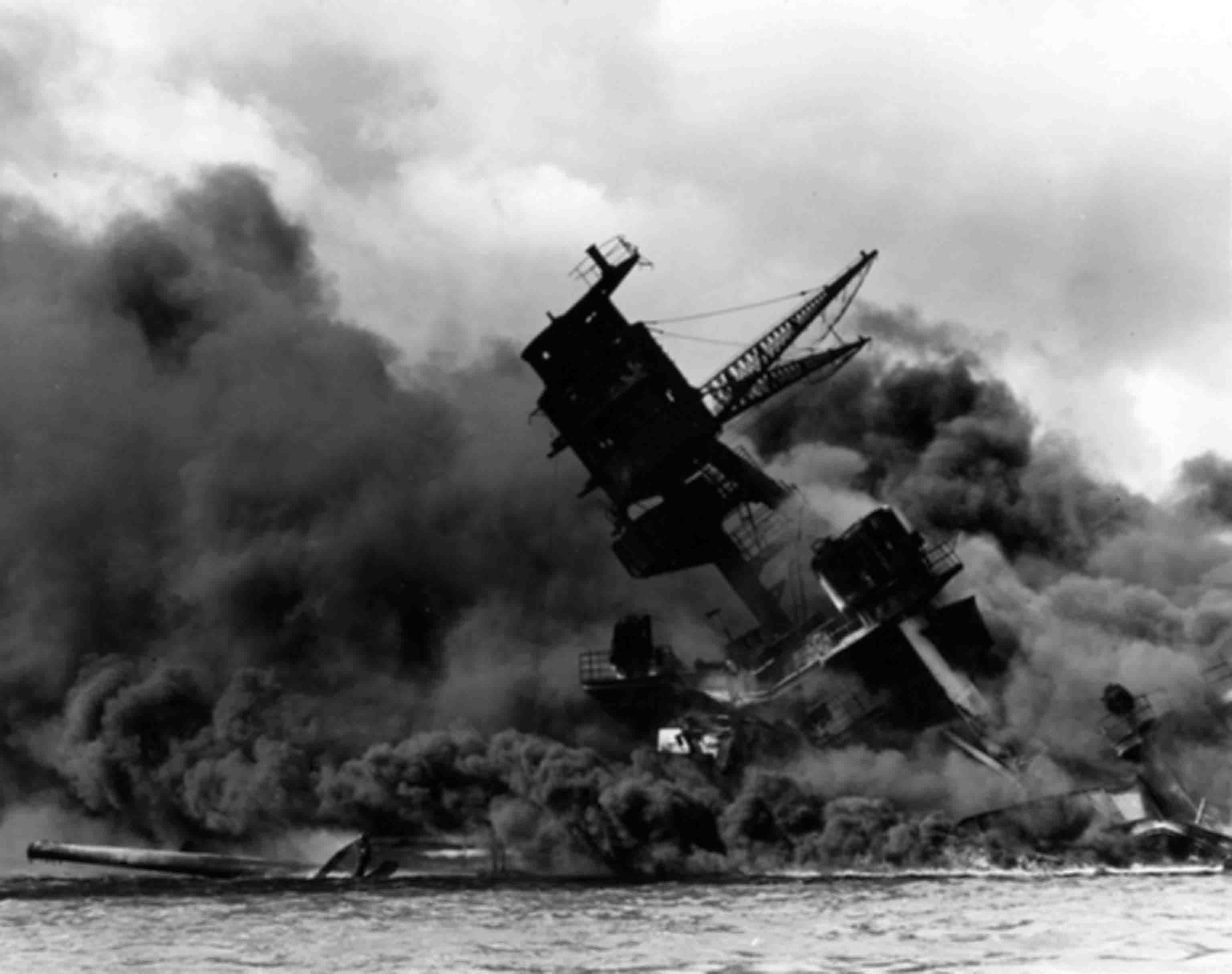 World War 2: battleship Arizona