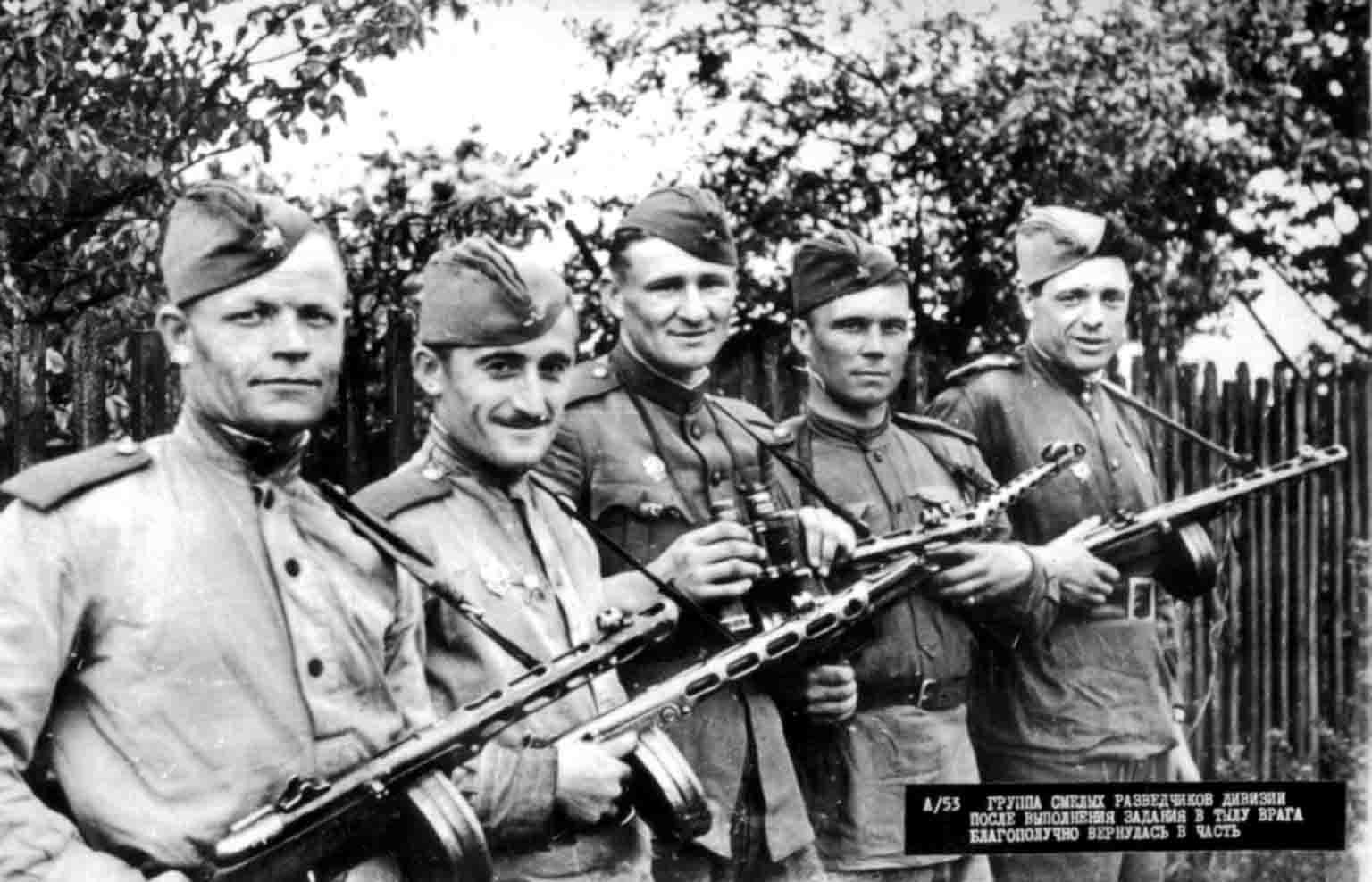 World War II: Scouts