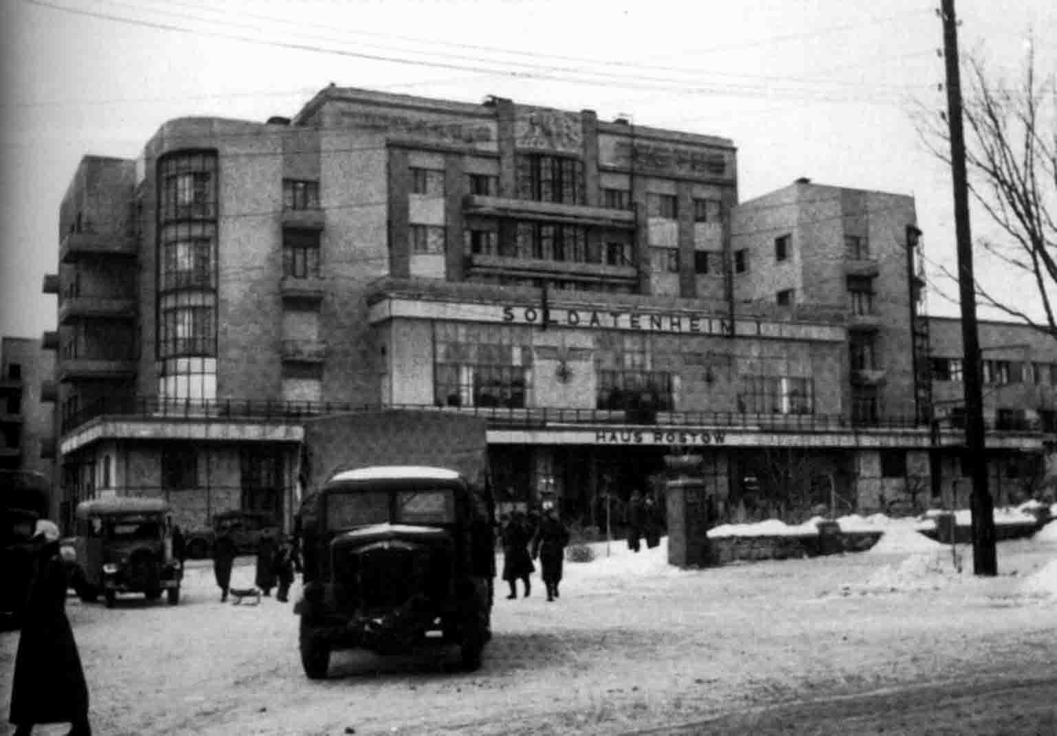 occupied Rostov-on-Don