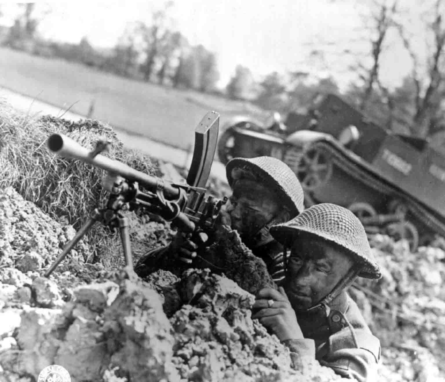 British gunners