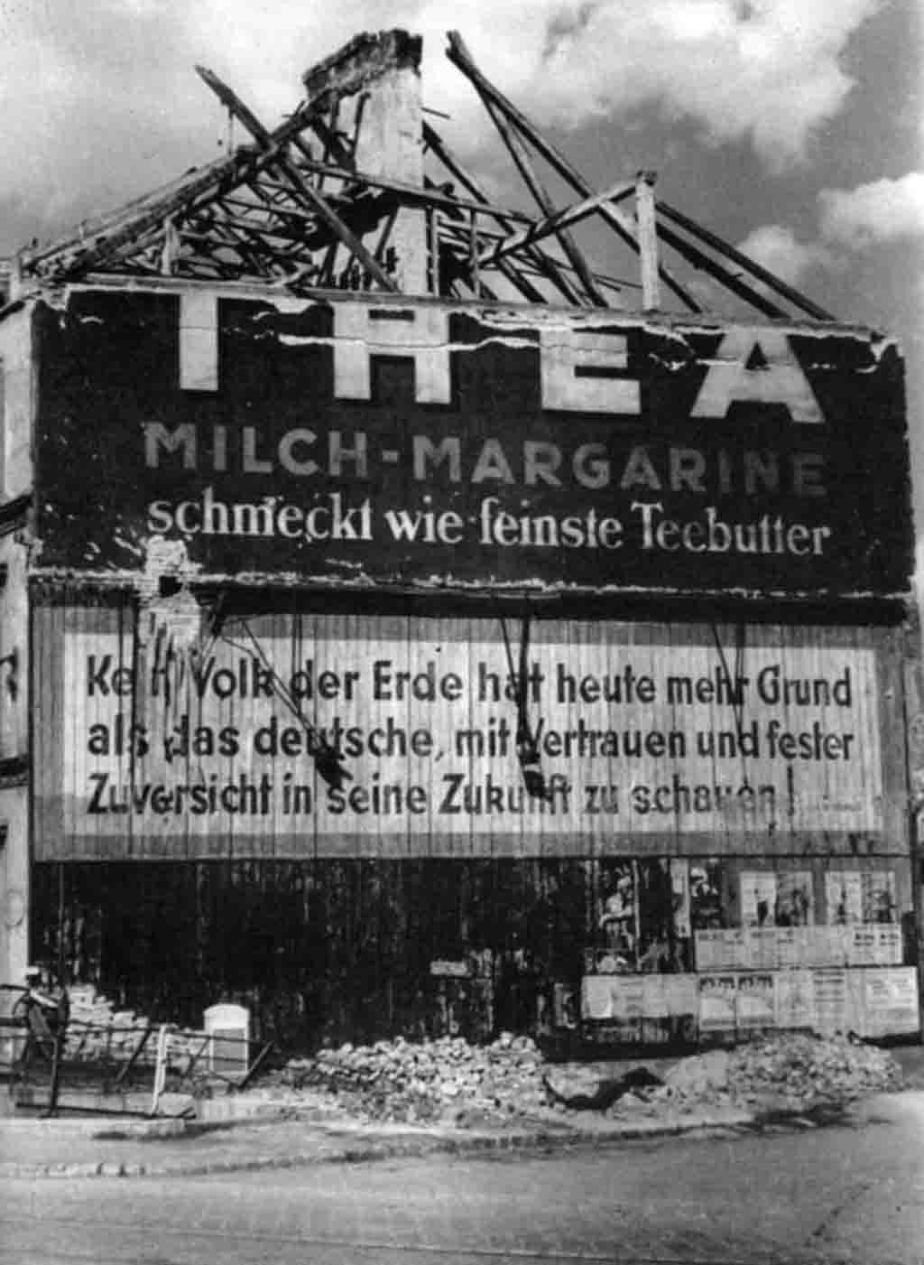 Nazi agitational poster