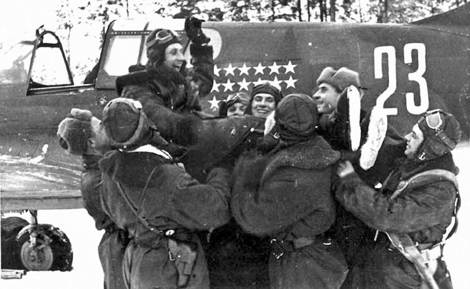 Soviet pilot N. Kuznetsov