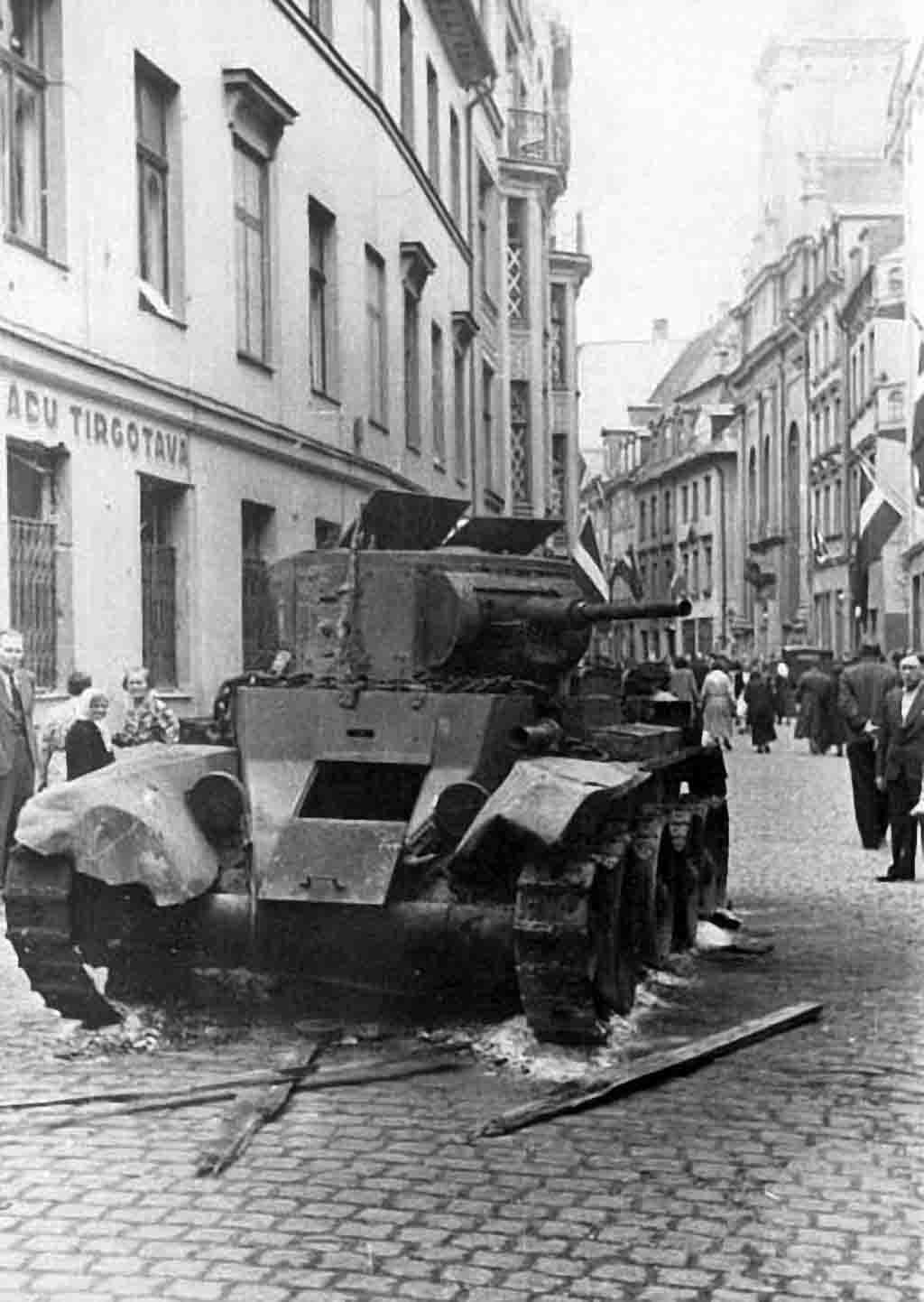 light tank BT-7