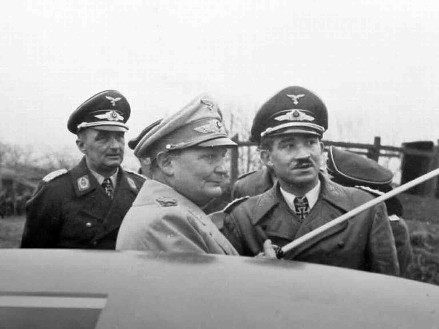 Hermann Goering, Adolf Galland