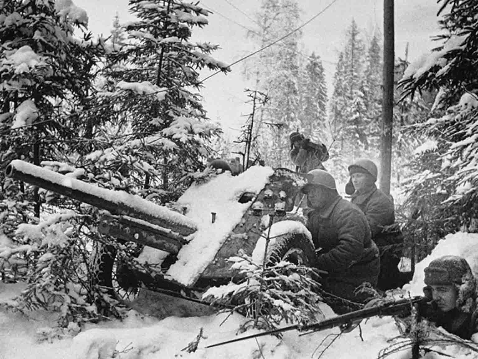 45-mm 53-K gun