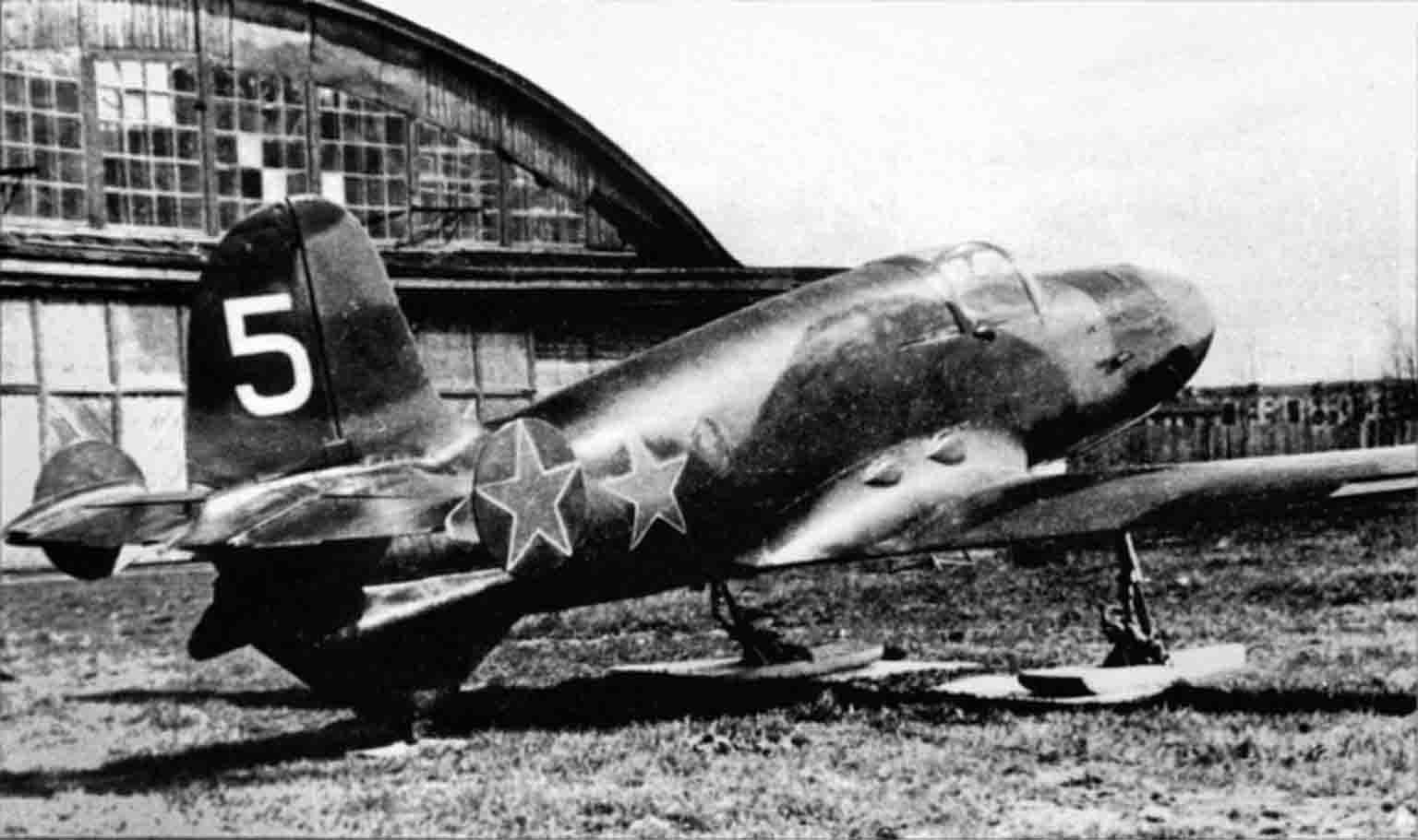 jet plane BI-1