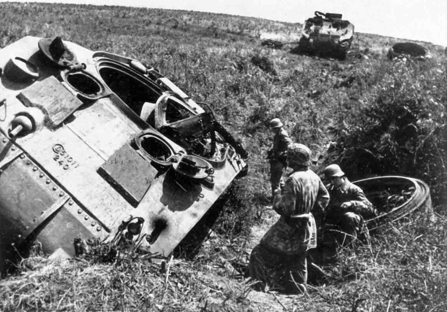 Destroyed M4 Sherman