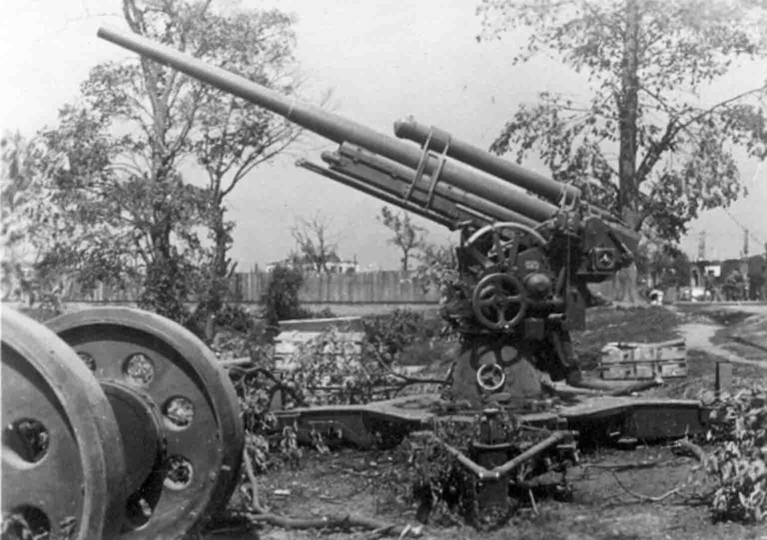 antiaircraft gun 3-K