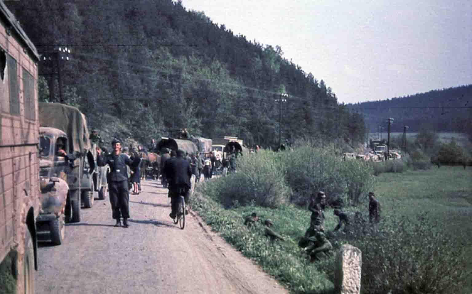 German convoy