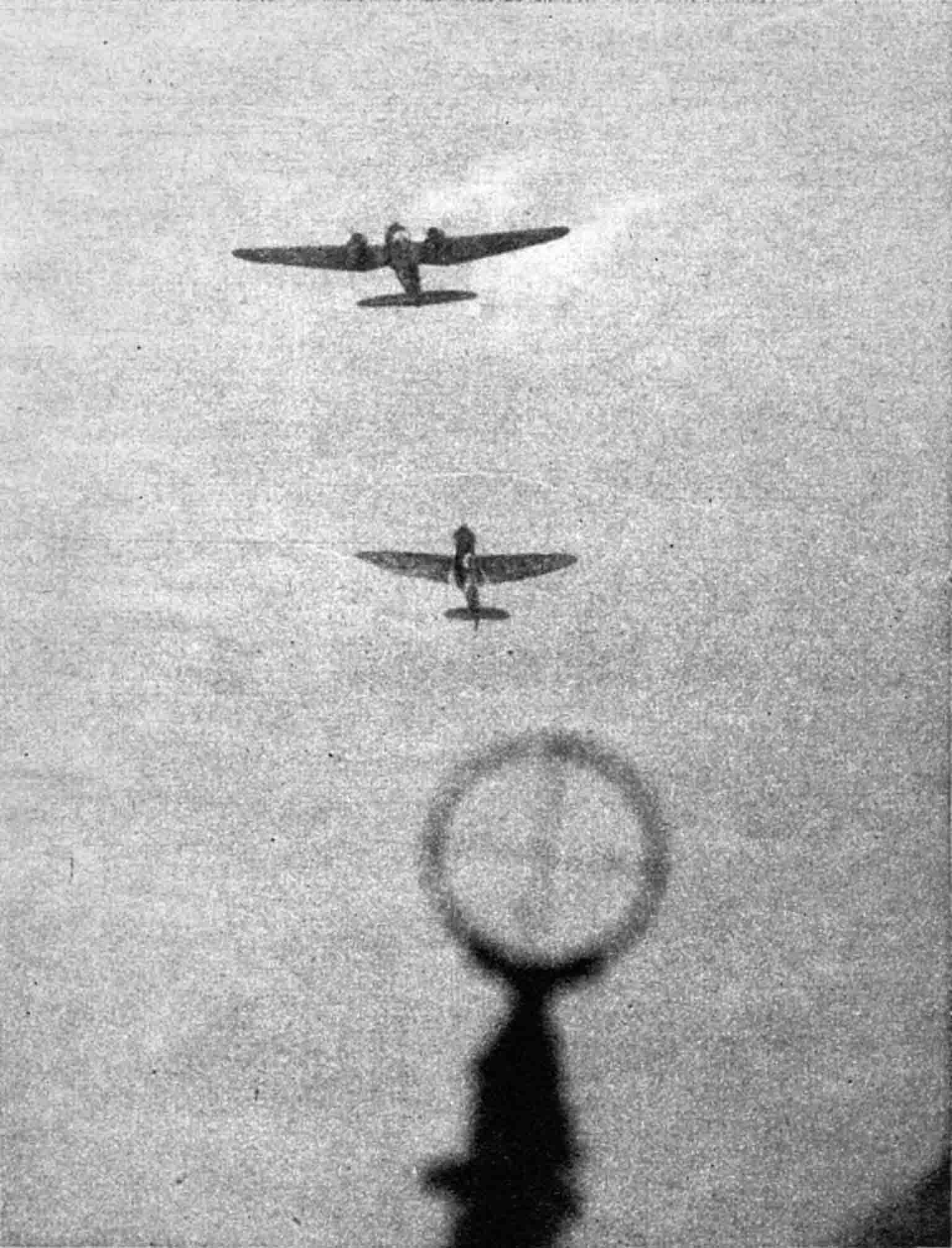 He-111, Spitfire