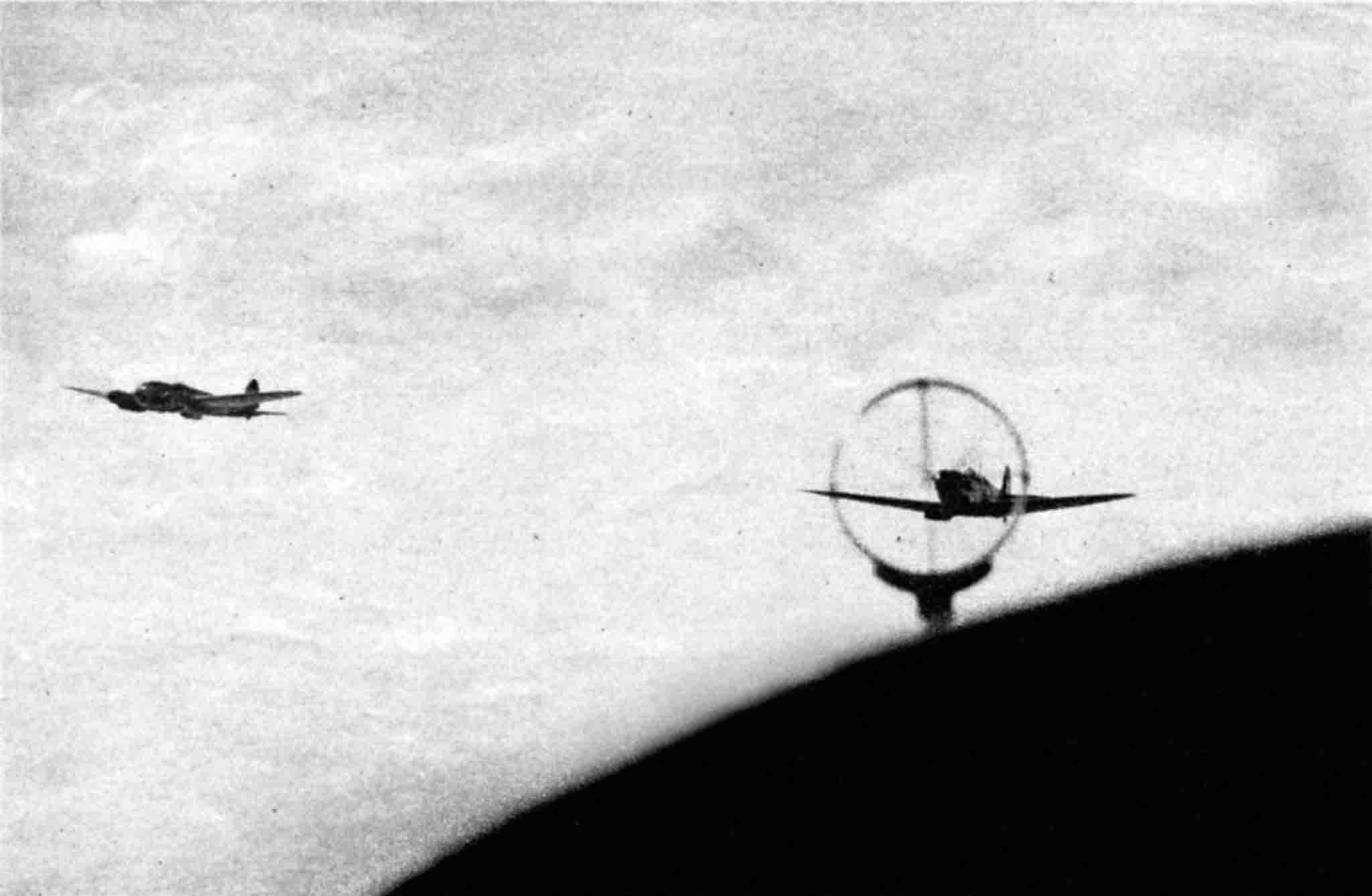 Spitfire, Heinschel He-111