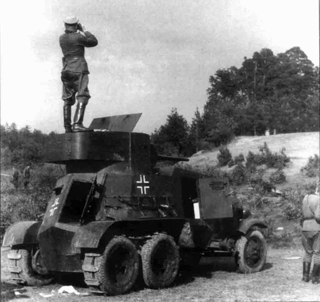 armored car BA-3