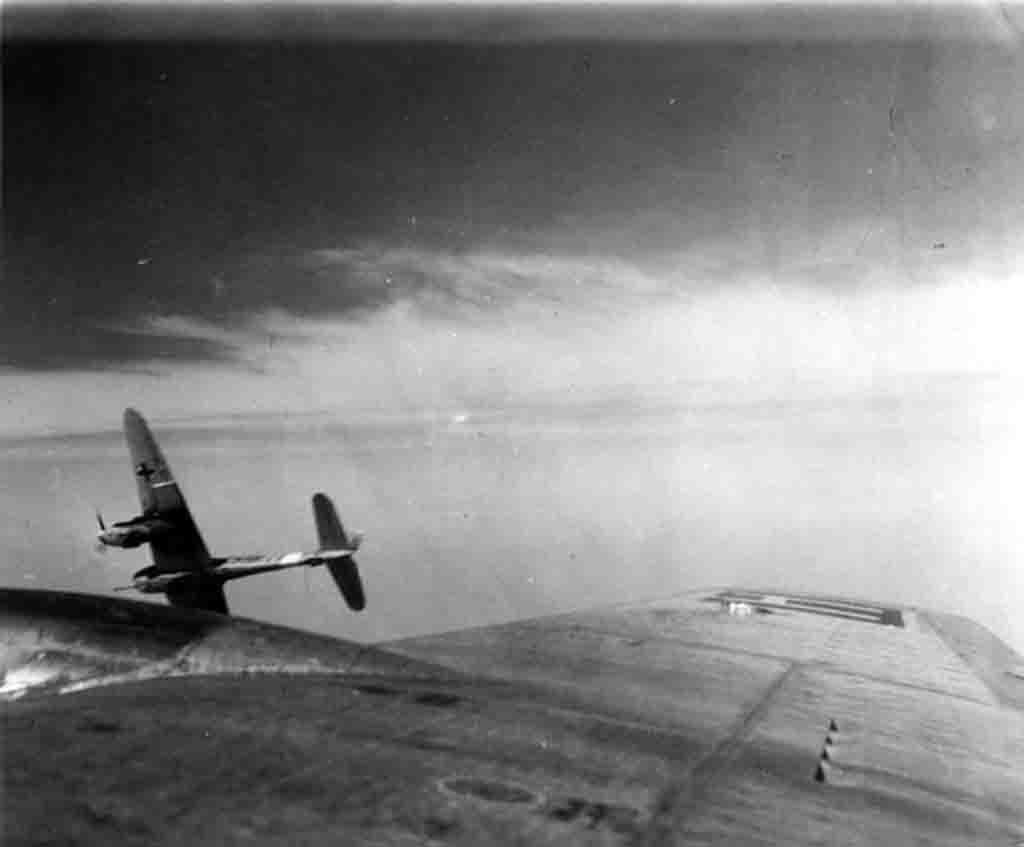 Me.410, B-17