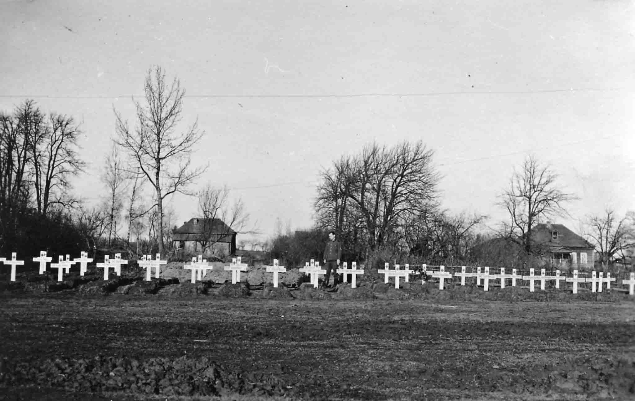 Cemetery of German soldiers