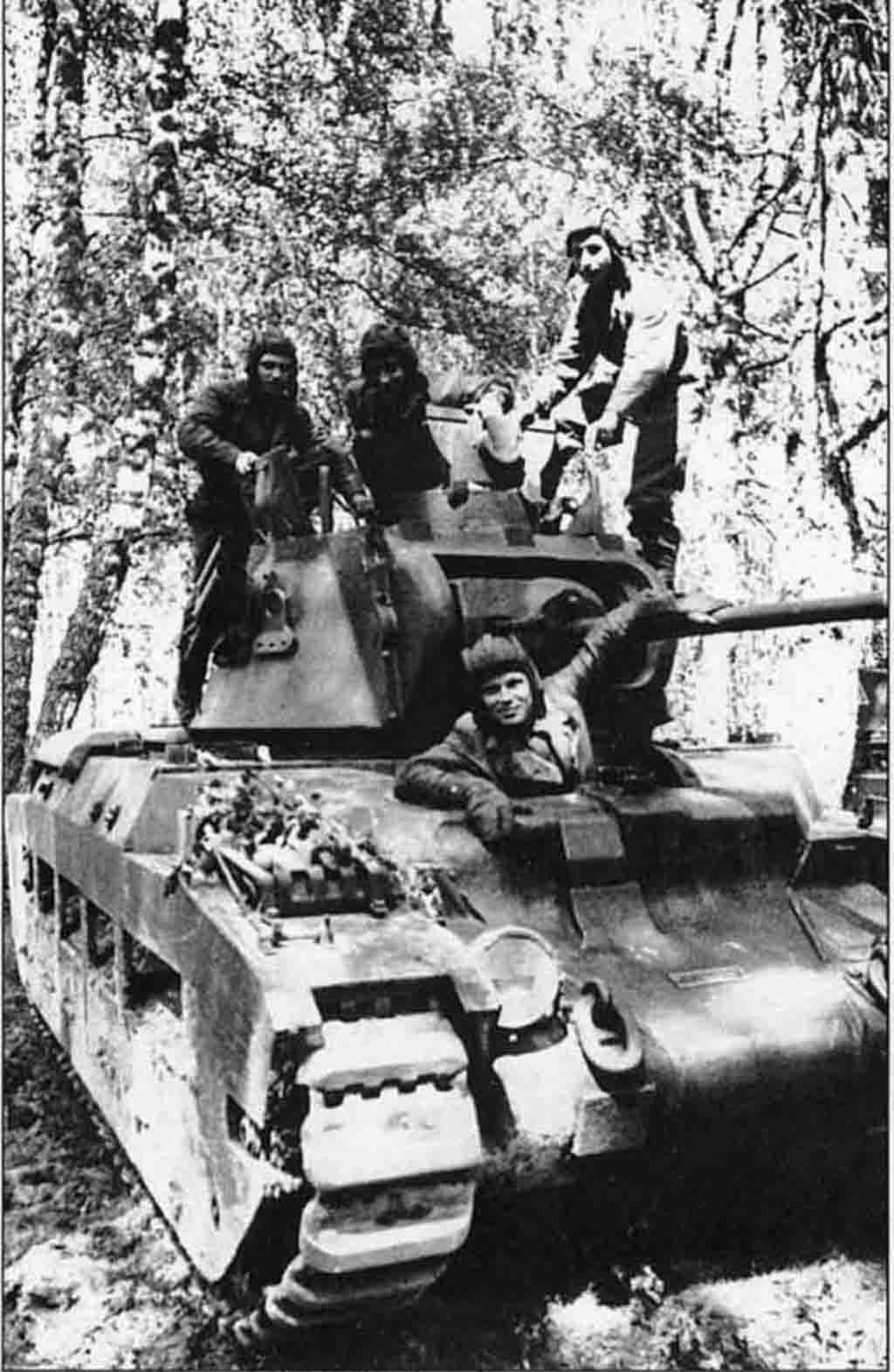 Soviet crew