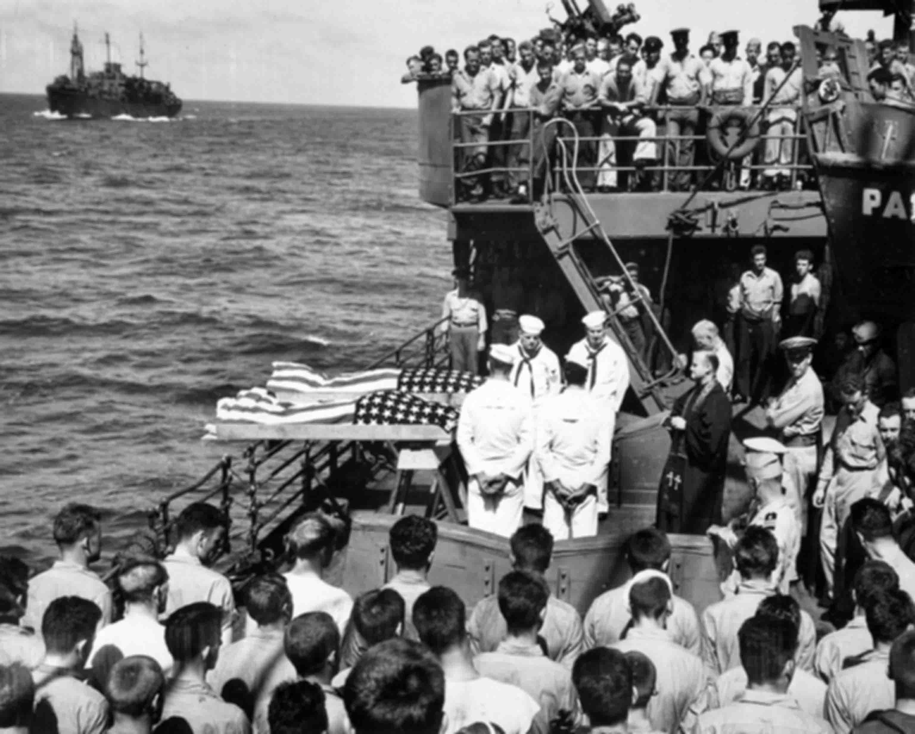 Funeral of American sailors