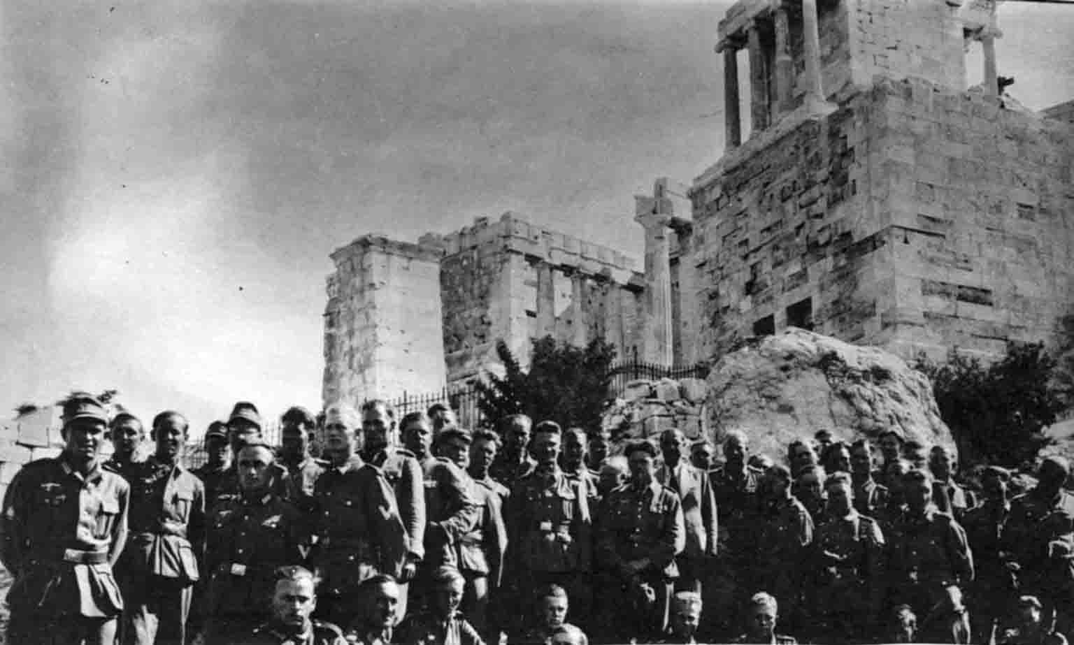 Gebirgsjäger in Athens