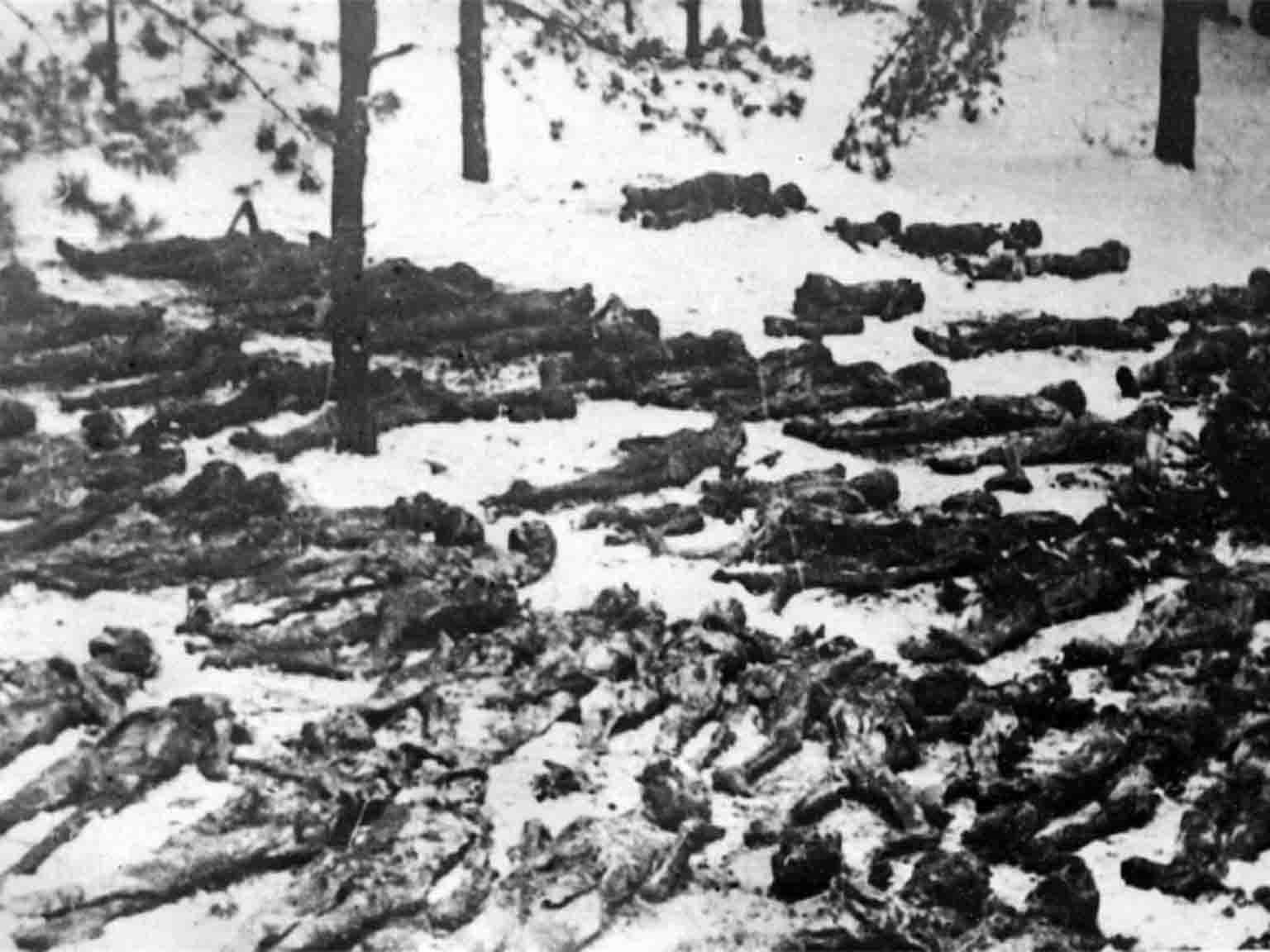 corpses of Soviet citizens