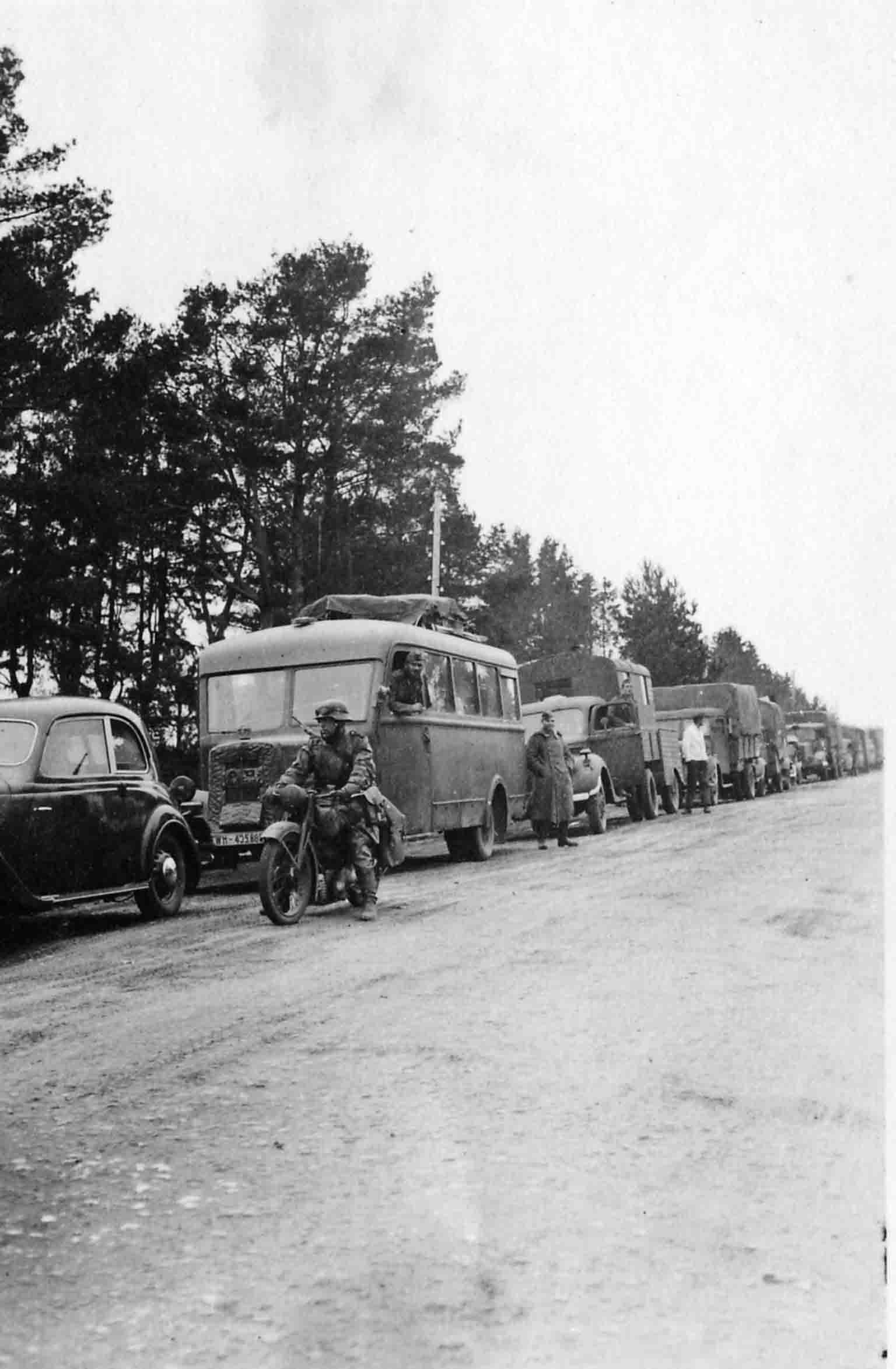 German convoy