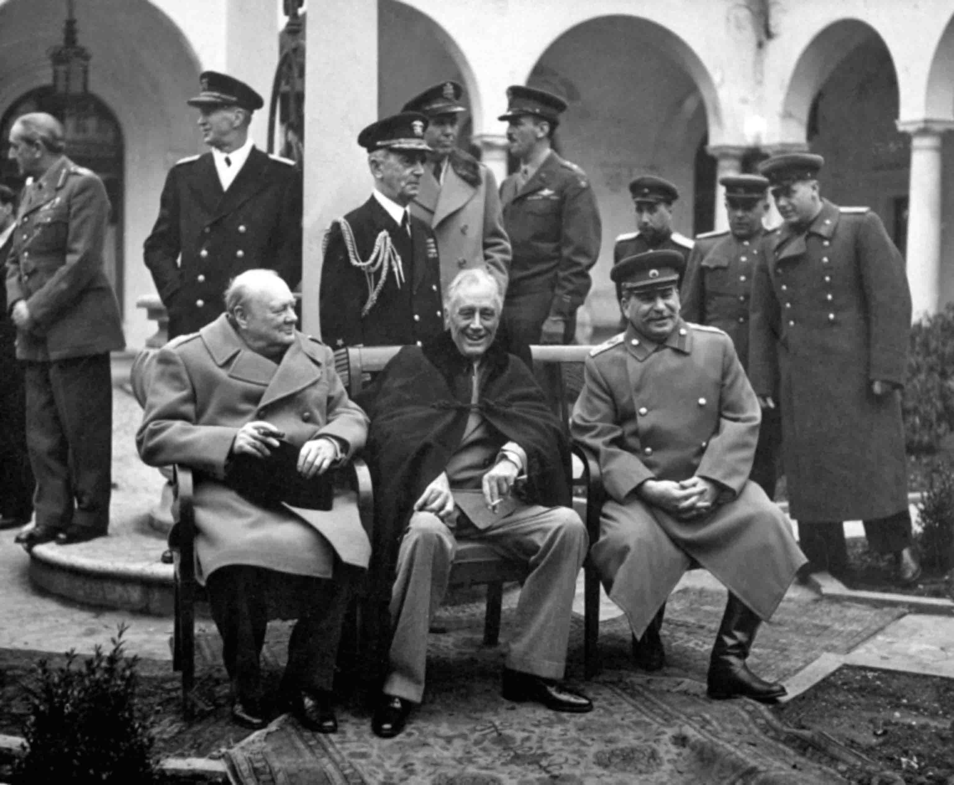 Leaders of the countries-anti-Hitler coalition