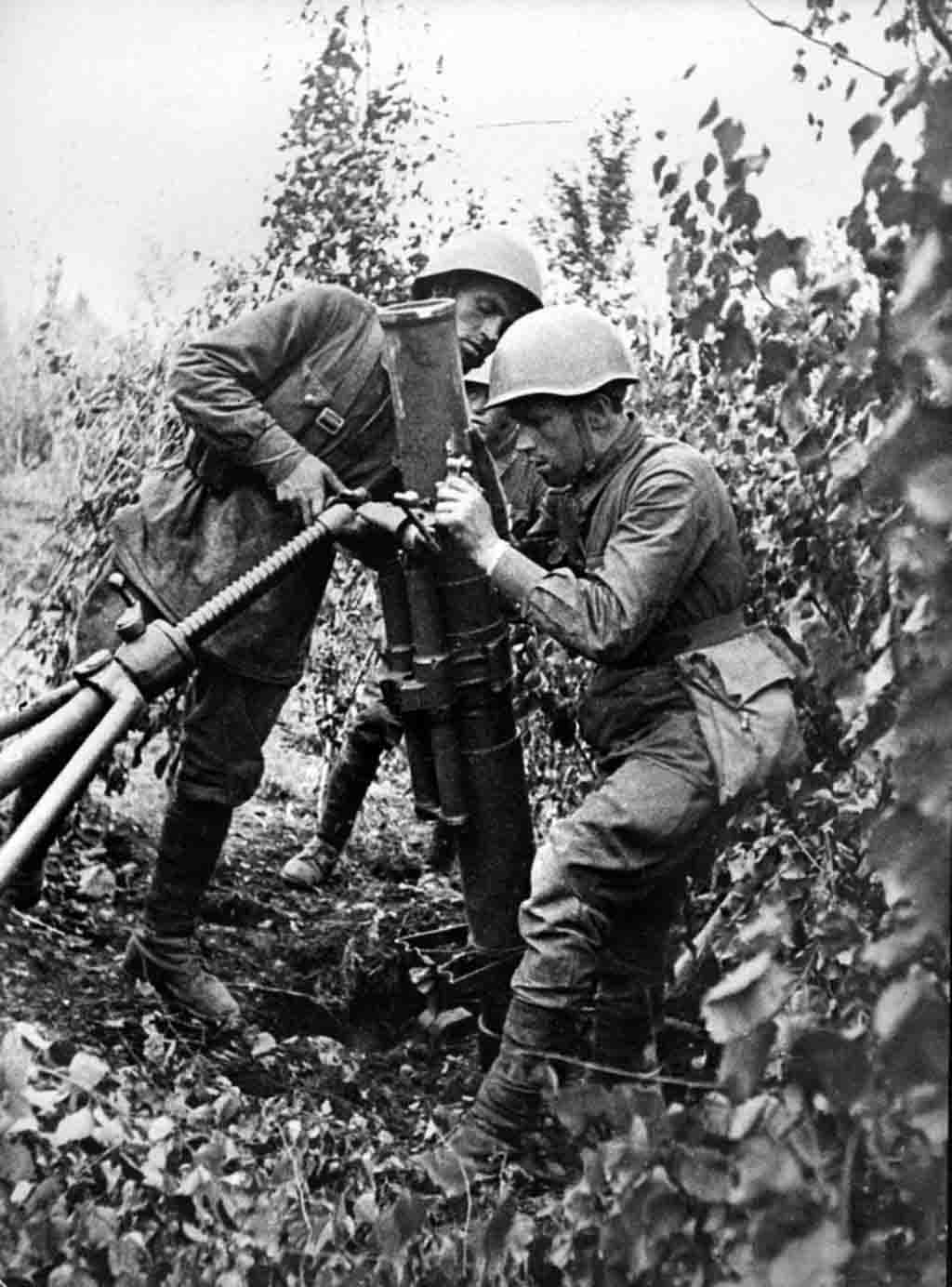 120-mm mortar