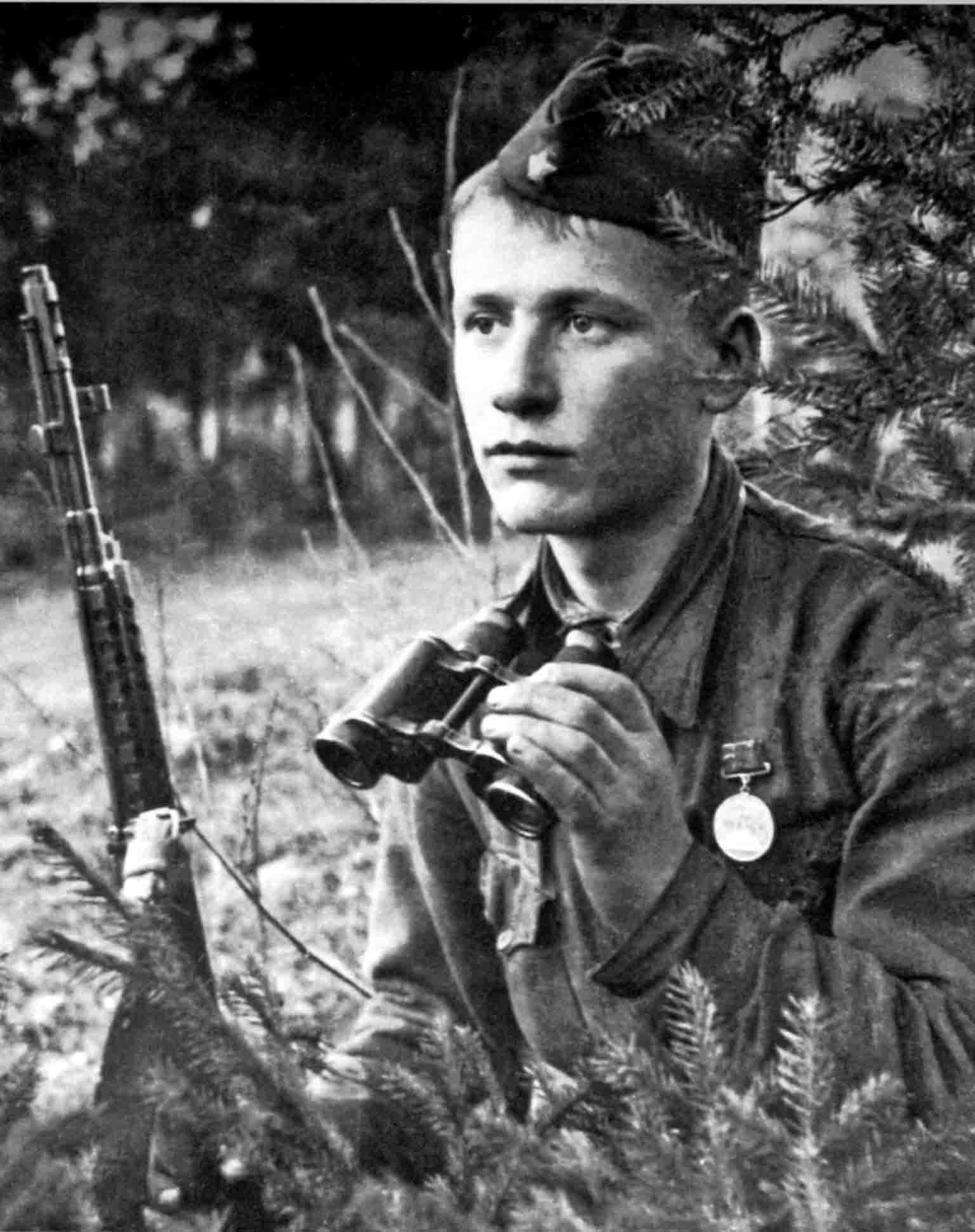 Soviet soldier Alyosha
