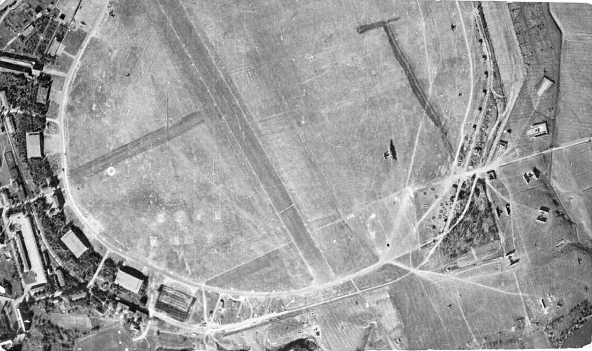 Saki airfield