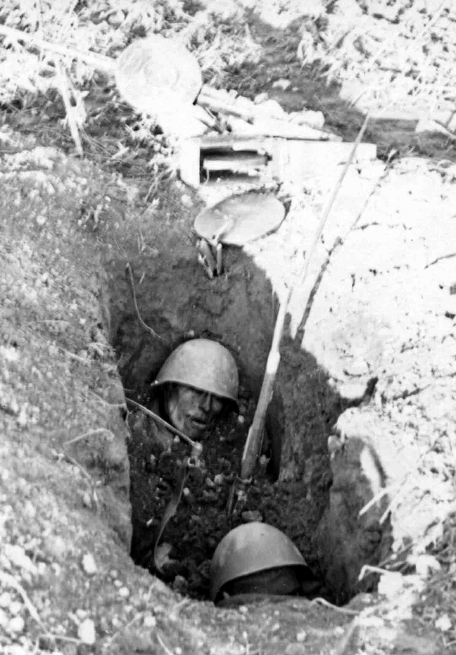 dead infantrymen