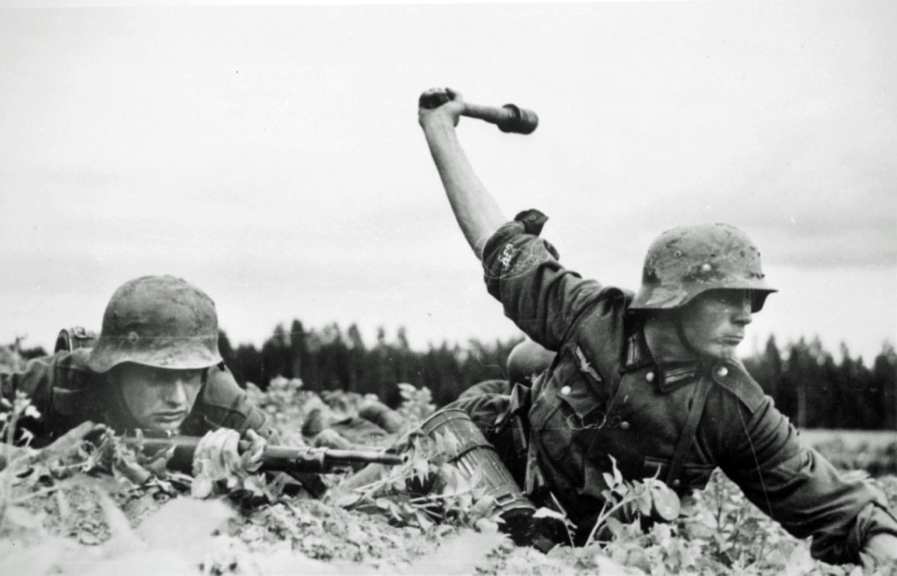 Wehrmacht soldiers