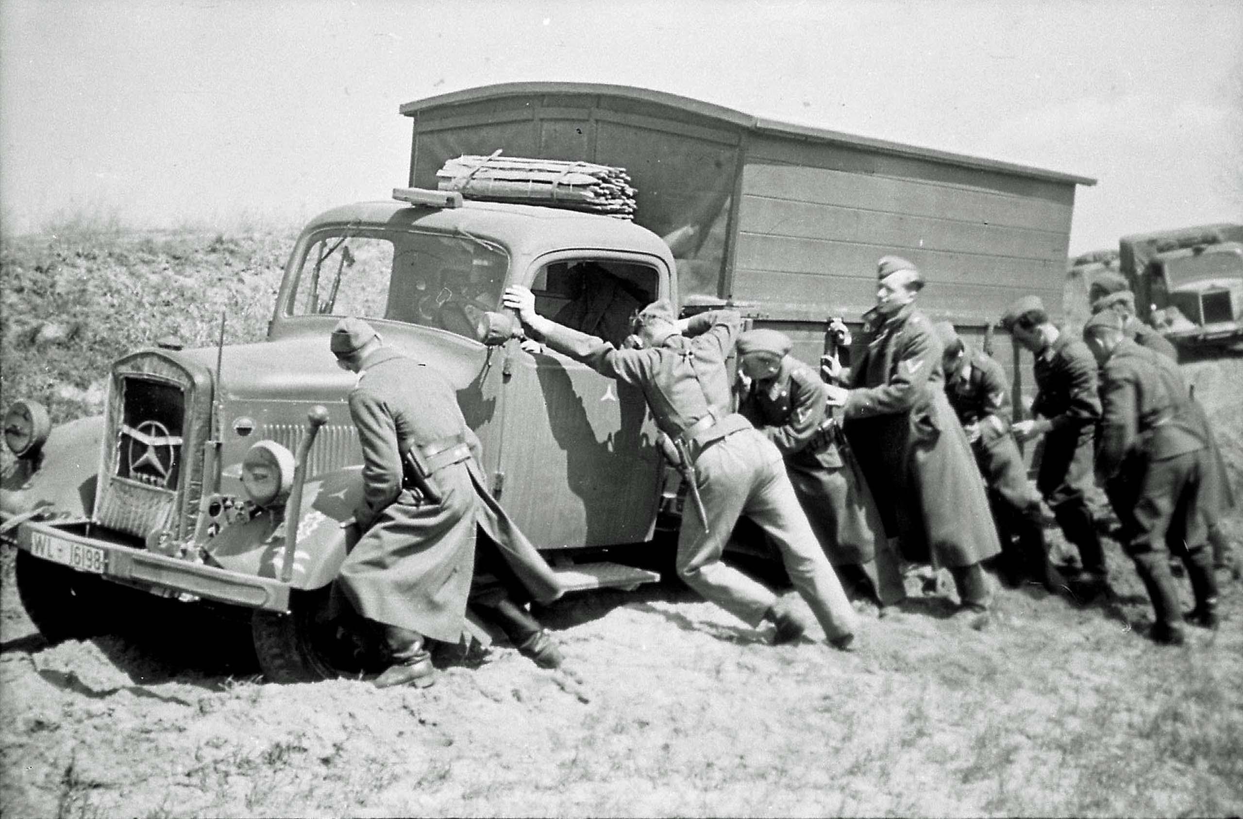 Wehrmacht truck