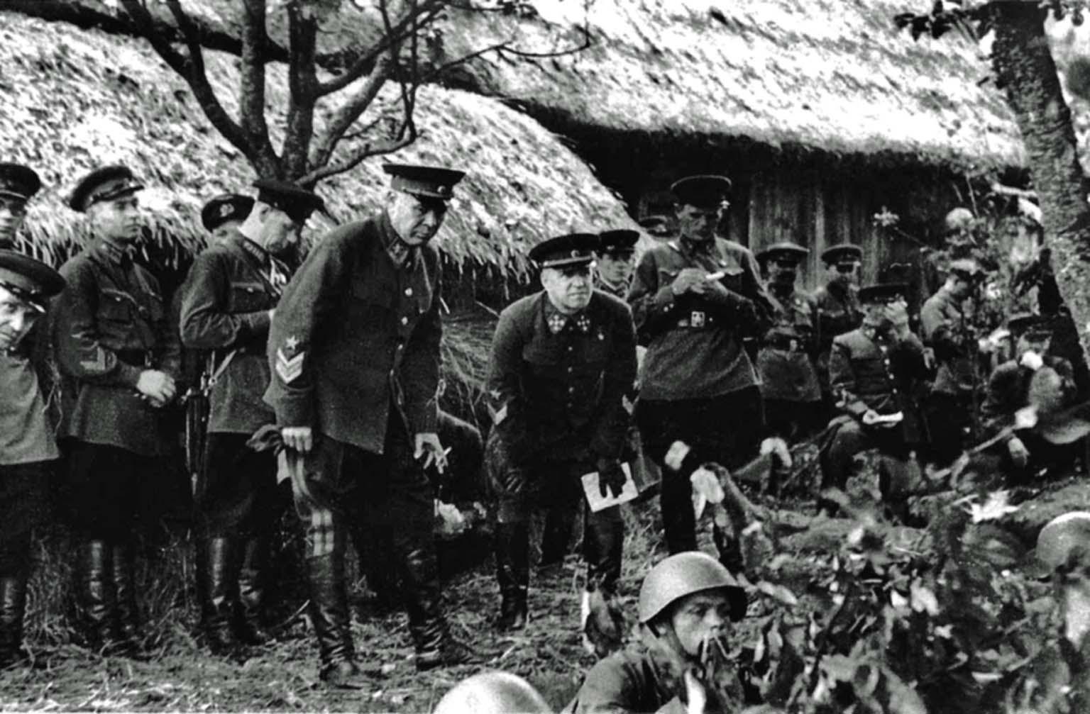 Semyon Timoshenko, Georgy Zhukovs