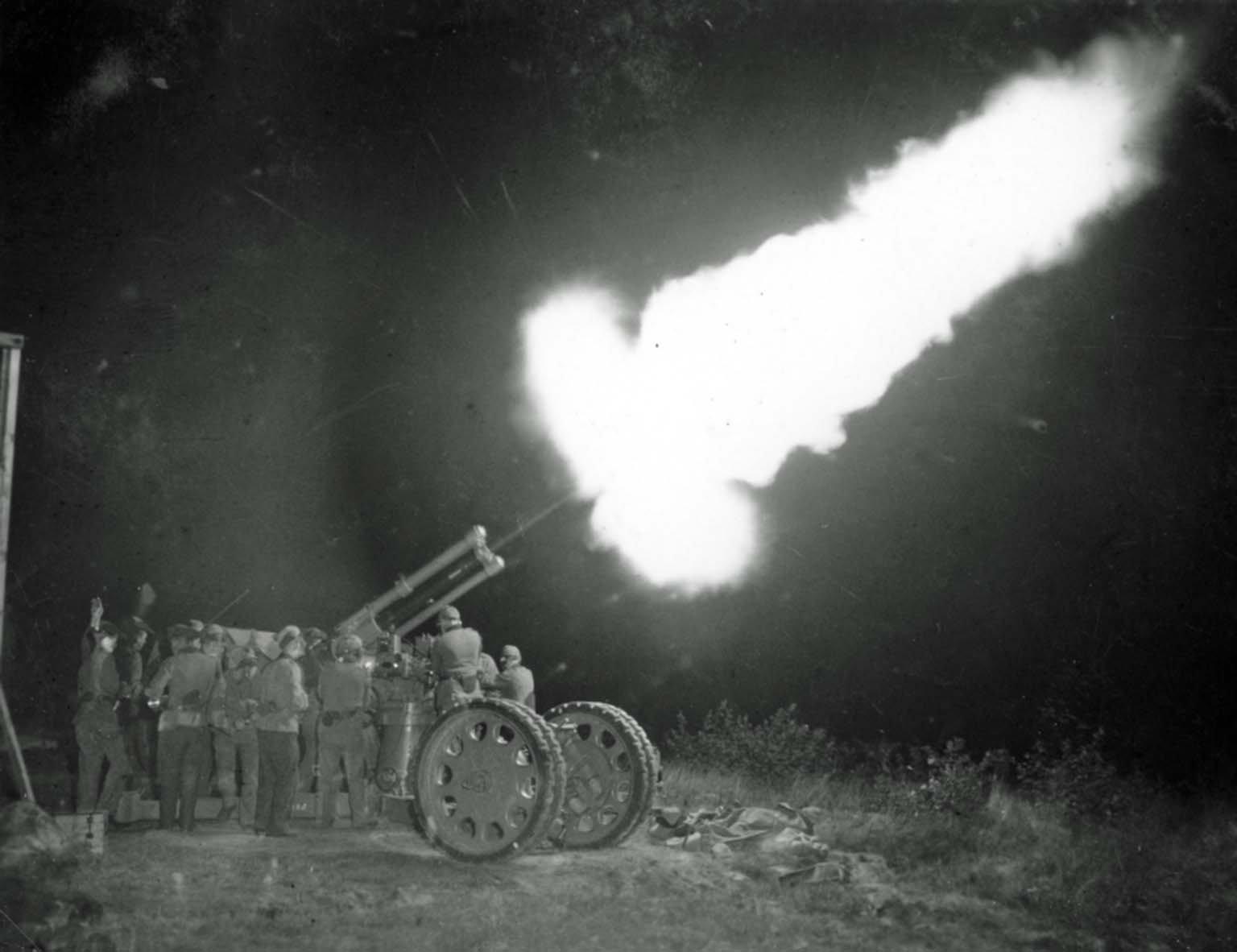 Bofors anti-aircraft