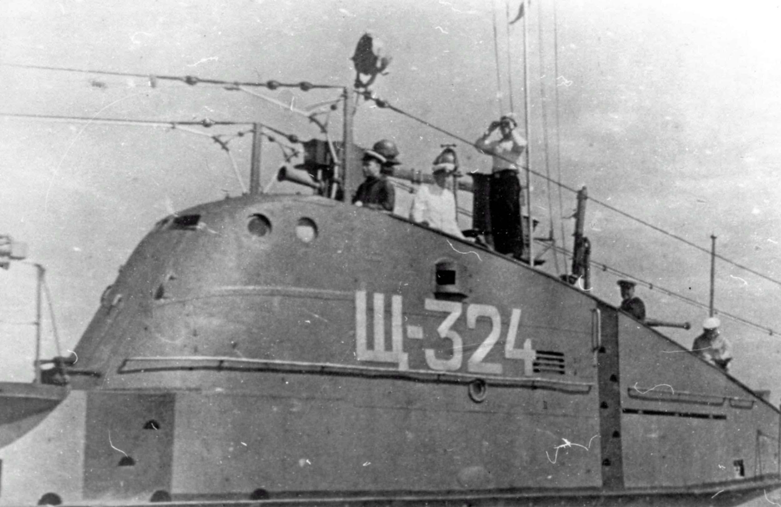submarine SHCH-324